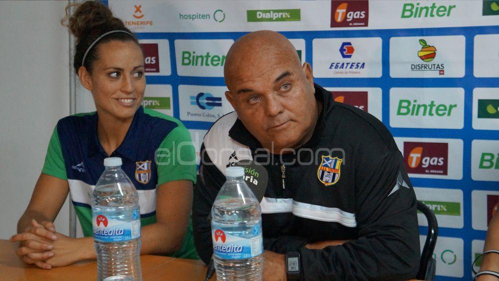 La alegría de dos guerreras de la UDG Tenerife que se estrenan como goleadoras