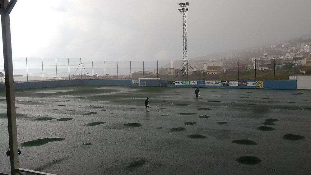 El Ibarra se aúpa a la tercera plaza en una jornada marcada por las inclemencias meteorológicas