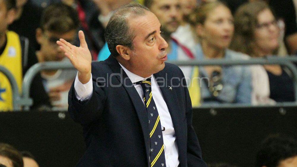 Vidorreta destaca a su defensa y el papel de la afición del Iberostar Tenerife