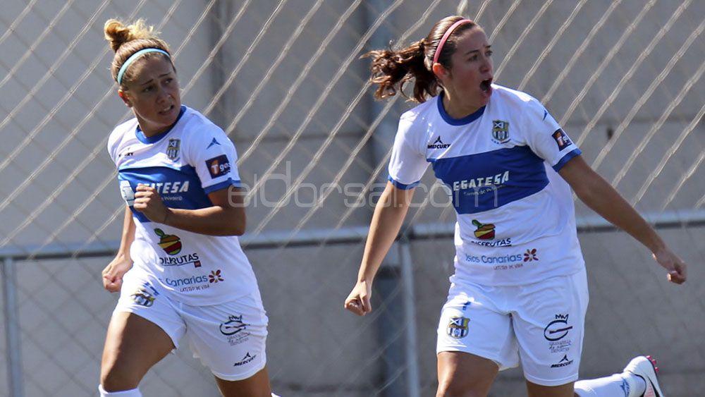 La UDG Tenerife, tercer equipo que más goles hace de la Liga Iberdrola