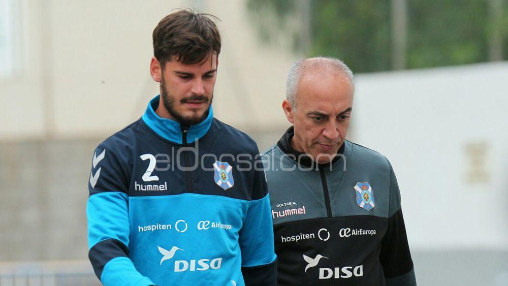 Edu Oriol vuelve a la enfermería del CD Tenerife