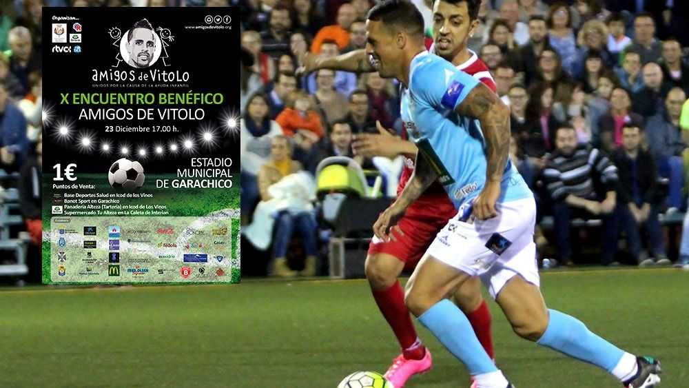Este viernes será presentado el X Encuentro Amigos de Vitolo
