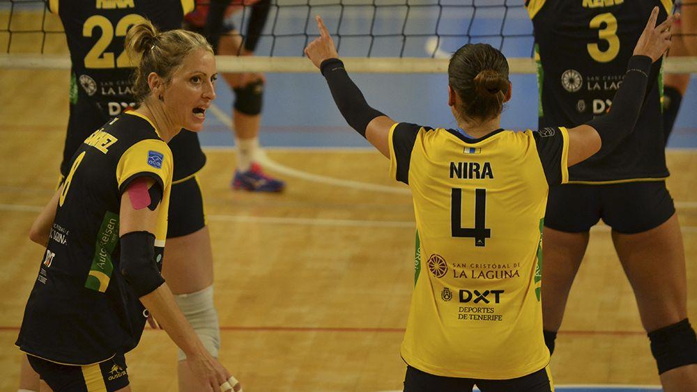 CV Aguere, voleibol femenino