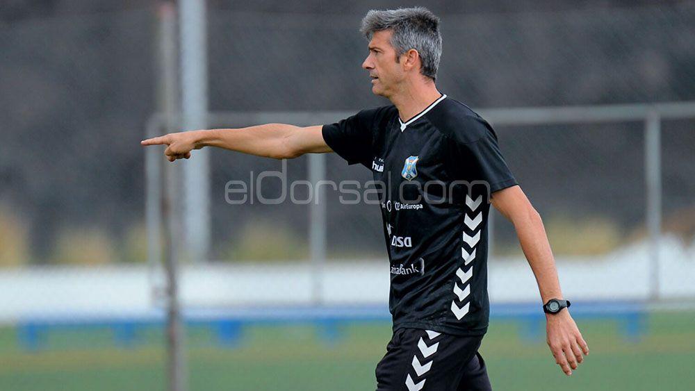 """Martí: """"Vitolo es un jugador importante, está preparado y con ganas de competir"""""""