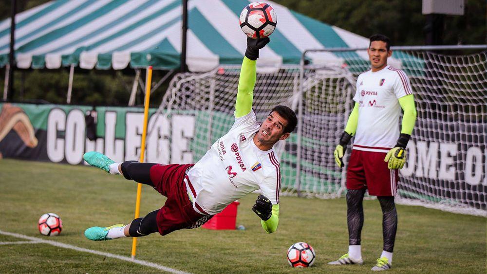 Dani Hernández deja la portería de la Vinotinto a cero en la goleada ante Bolivia