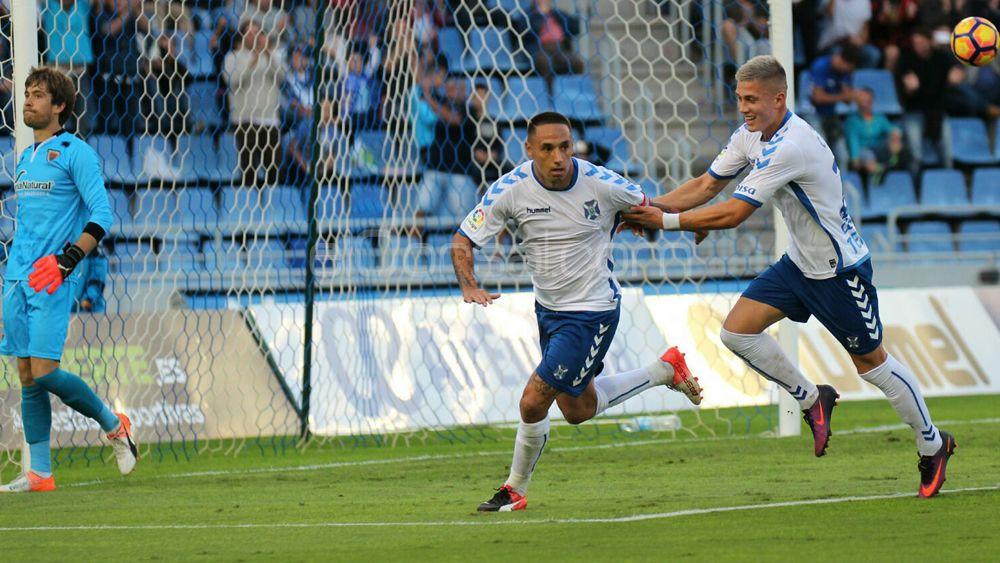 Suso pone fin al gafe del CD Tenerife con los penaltis