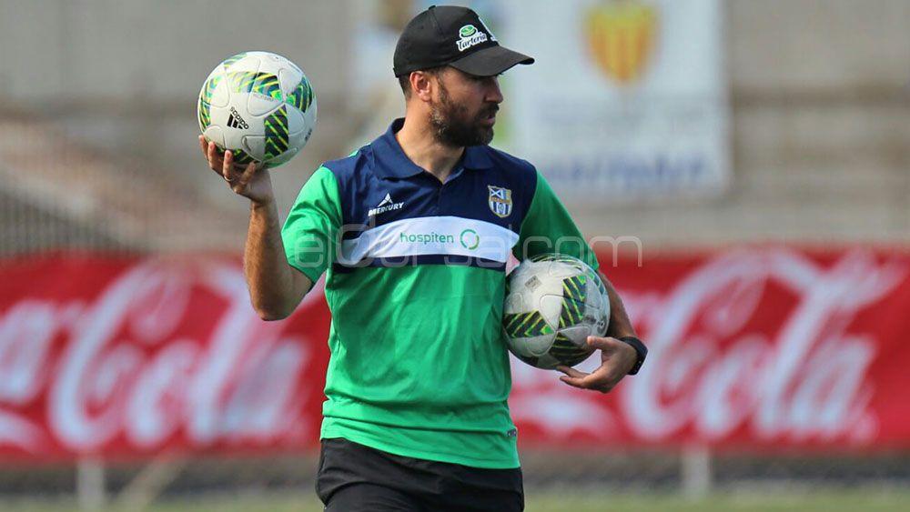 """Ayoze Díaz: """"El próximo partido, frente al Oiartzun, es de vital importancia"""""""