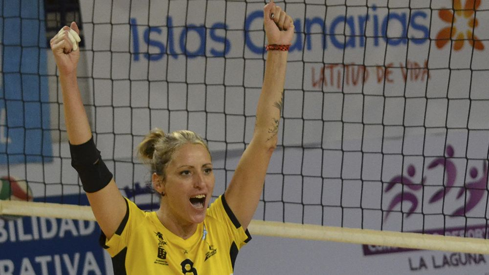 Diana Sánchez, una de las jugadoras más destacadas de la jornada en la Superliga