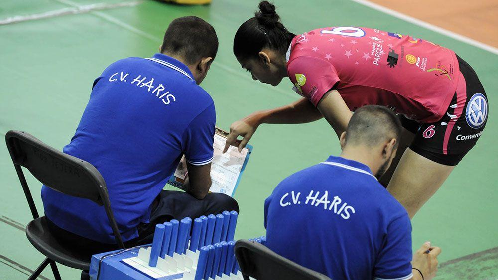 CV Haris y Haro Rioja Voley protagonizan uno de los grandes duelos de la Superliga