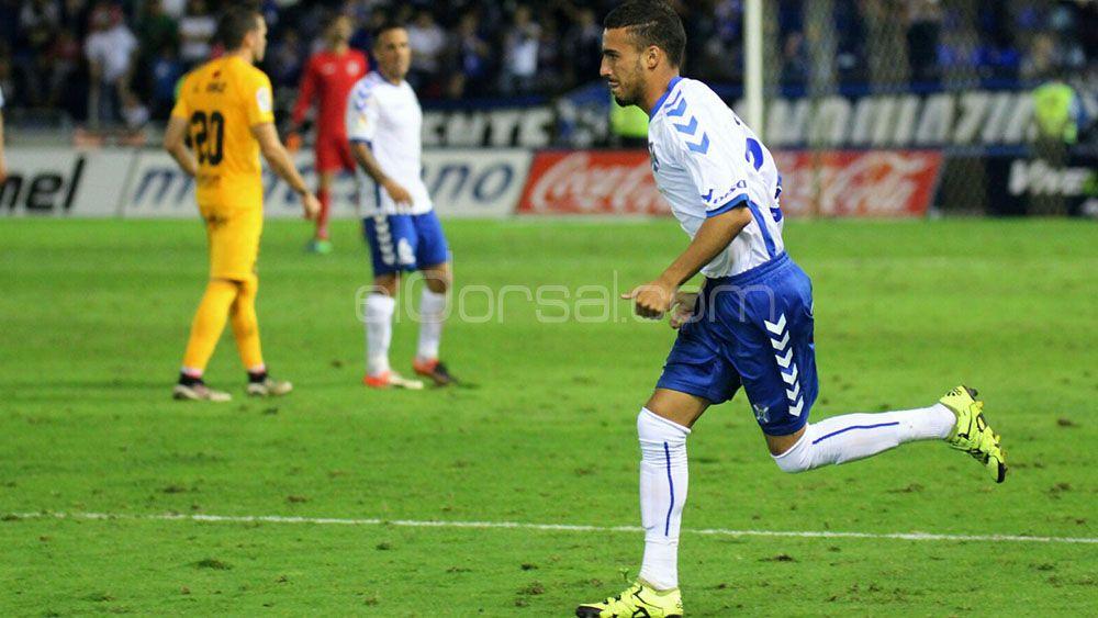 Giovanni Rodríguez, feliz debut en el CD Tenerife – UCAM Murcia