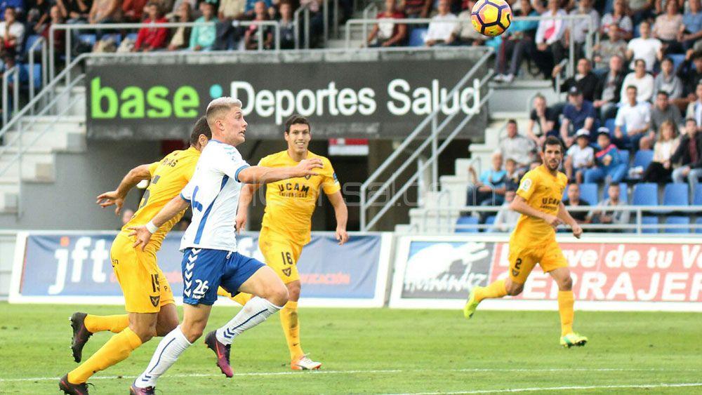 El CD Tenerife pasó de estar en descenso a situarse a solo dos puntos del playoff