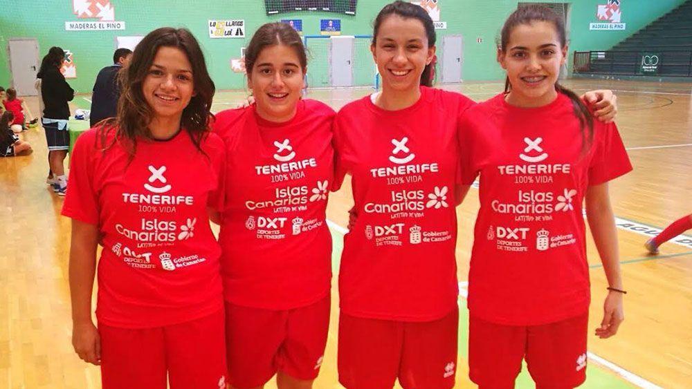 Cuatro jugadoras del Raqui San Isidro, convocadas con la selección canaria Sub-21