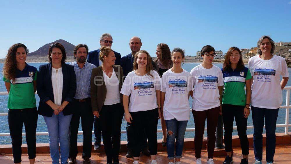 La UDG Tenerife presenta su proyecto 16-17 de baloncesto