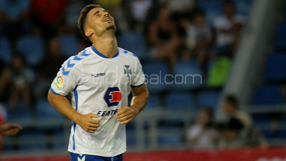Omar Perdomo no viaja a Lugo con el CD Tenerife