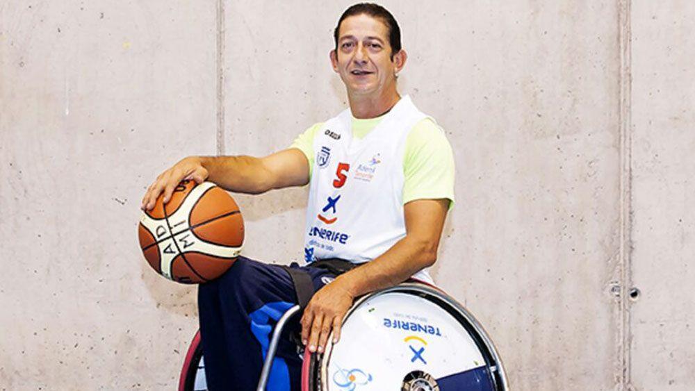 Faustino Padrón, un referente en el Ademi Tenerife de Baloncesto en Silla de Ruedas
