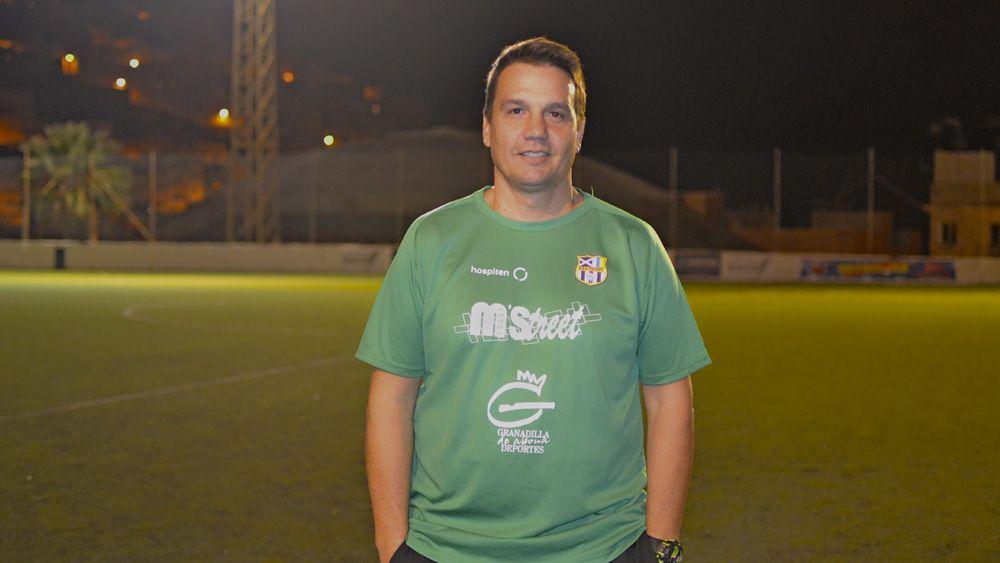 """Enrique Castro: """"Esperamos estar a la altura y ser parte importante del crecimiento de la UDG Tenerife"""""""