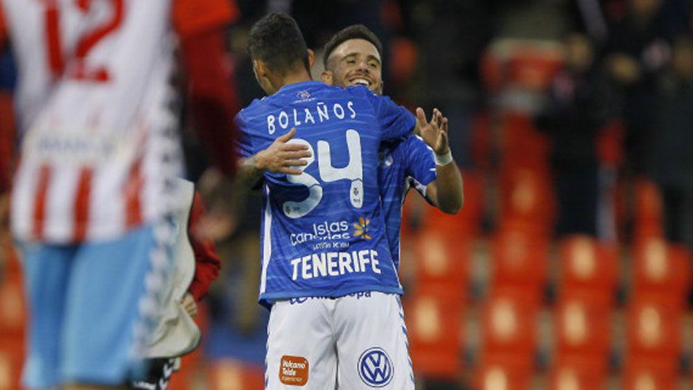 Roberto Bolaños debuta con un gran triunfo en el CD Tenerife