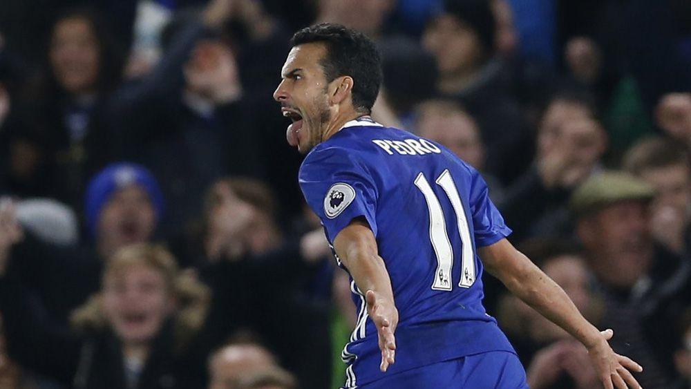 El golazo de Pedro que guió al Chelsea hacia el triunfo ante el Tottenham