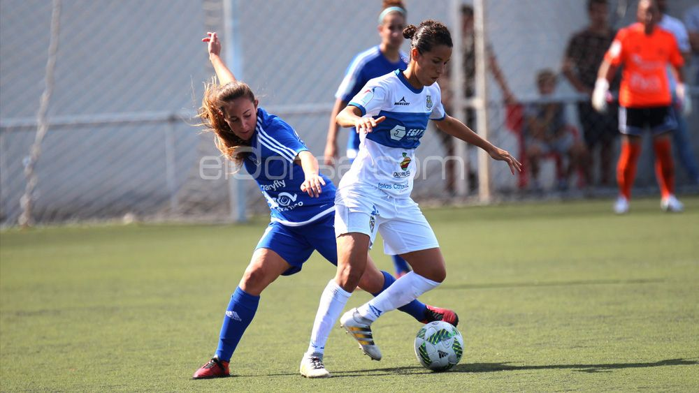 """Silvia Doblado: """"Los números que lleva la UDG Tenerife a estas alturas de temporada era algo impensable"""""""
