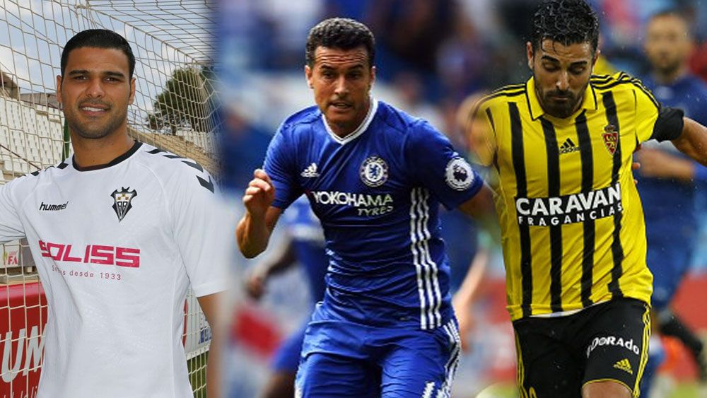 futbolistas canarios