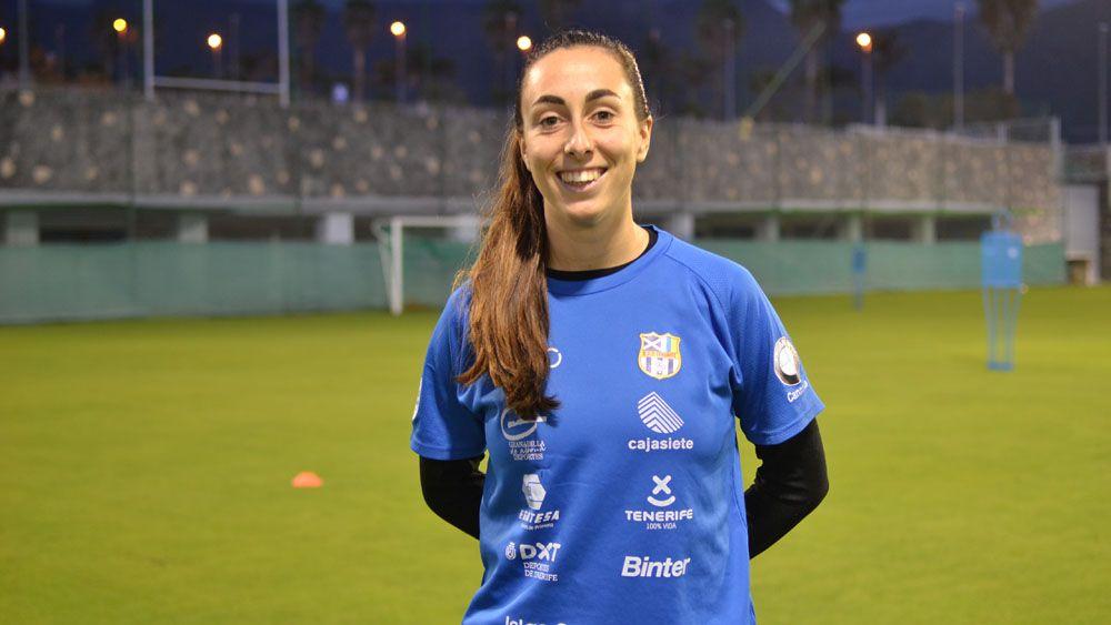 """Paloma Lázaro: """"Ya incluyo a la UDG Tenerife entre los grandes de la Liga Iberdrola"""""""