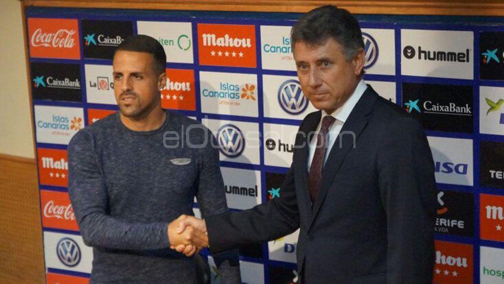 """Vitolo """"Laboralmente no tengo otra meta que devolver al CD Tenerife a Primera"""""""