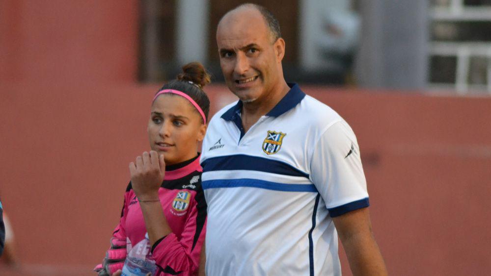 """Mario Romero: """"La UDG Tenerife está trabajando muy bien con las guardametas"""""""