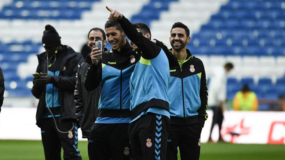 El tinerfeño Yeray González anota un gol histórico con la Cultural Leonesa en el Santiago Bernabéu