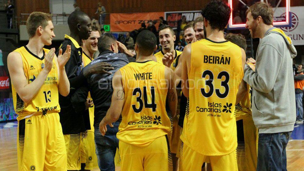 La quinta victoria de Iberostar Tenerife en la Basketball Champions League