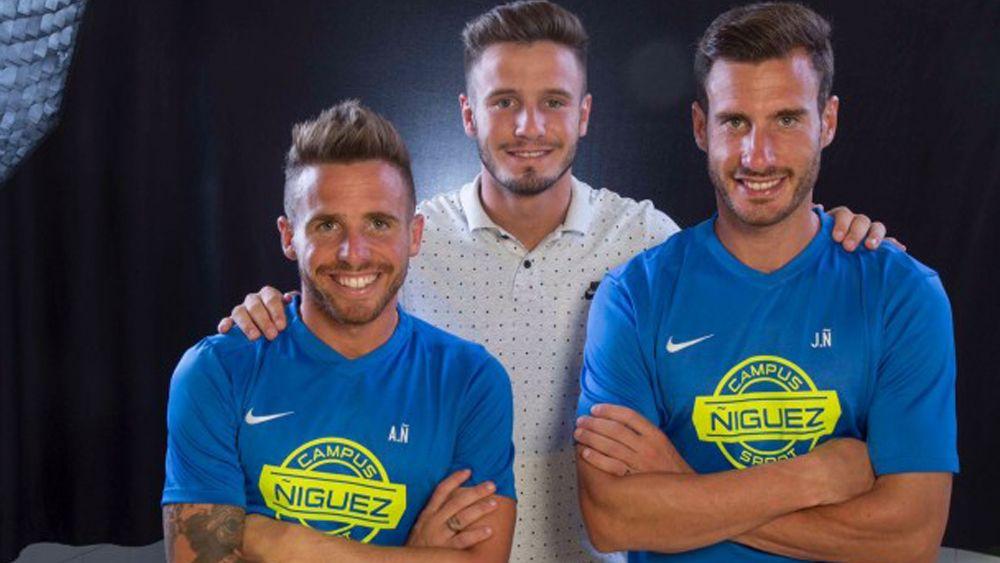 """Saúl Ñíguez ve a Aarón """"contento y feliz en el CD Tenerife"""""""