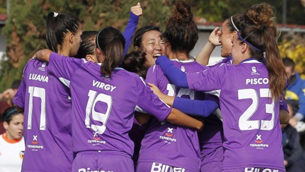 Meritorio empate de la UDG Tenerife en Paterna