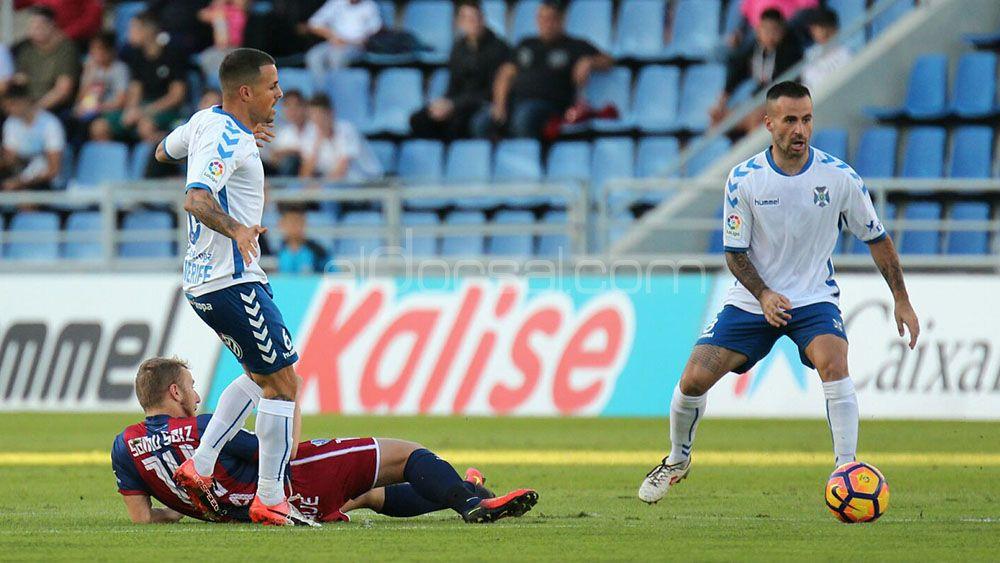 El empate entre CD Tenerife y SD Huesca en el Heliodoro