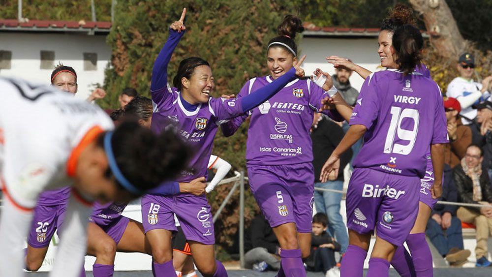 Ayano Dozono, un gol desde Japón para la UDG Tenerife