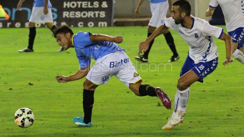 Asdrubal no jugará en el CD Tenerife