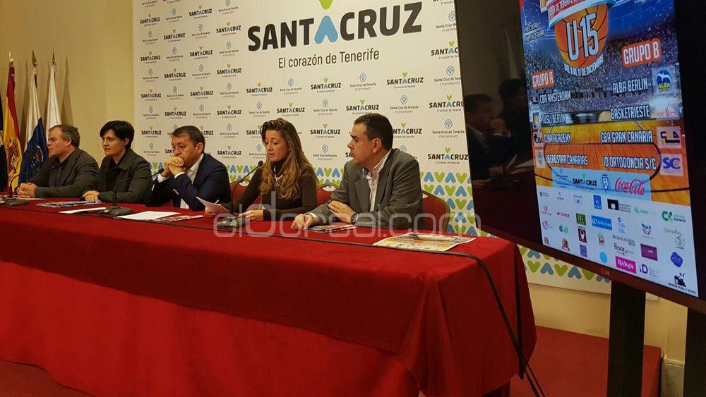 """Presentado el Torneo Sub-15 """"Isla de Tenerife-Ciudad de Santa Cruz"""""""