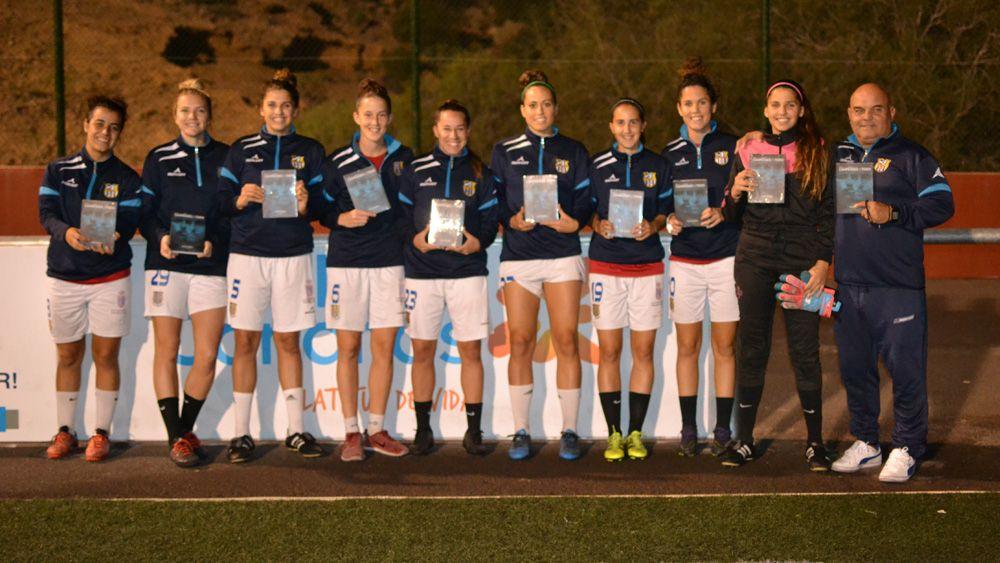 La UDG Tenerife apoya 'Campeones de Todo'
