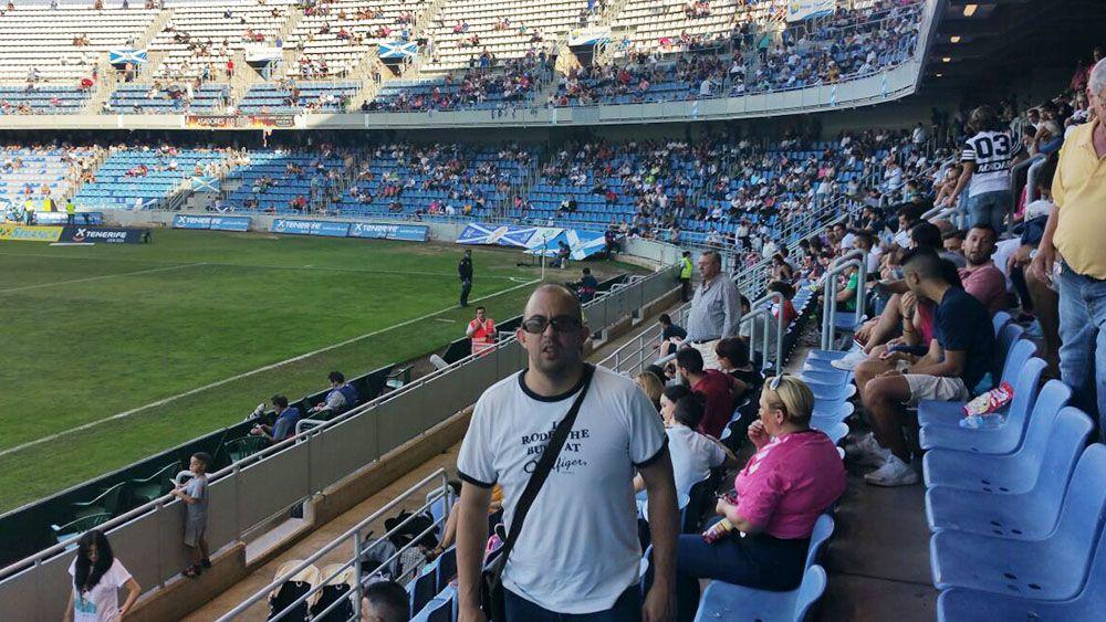 David Torres, un valenciano que se desvive por el CD Tenerife