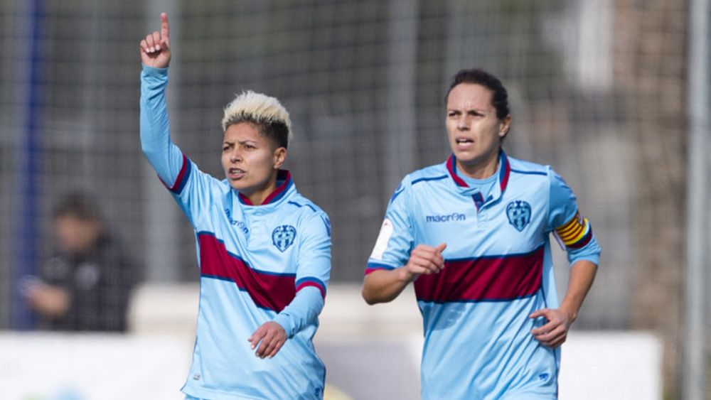 El doblete de María José Pérez que acerca al Levante al liderato de la Liga Iberdrola