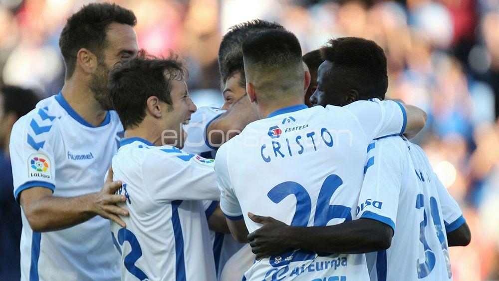 El CD Tenerife, quinto mejor equipo de Segunda en 2016