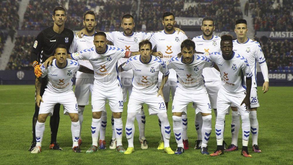 El 'uno por uno' del CD Tenerife contra el Levante UD