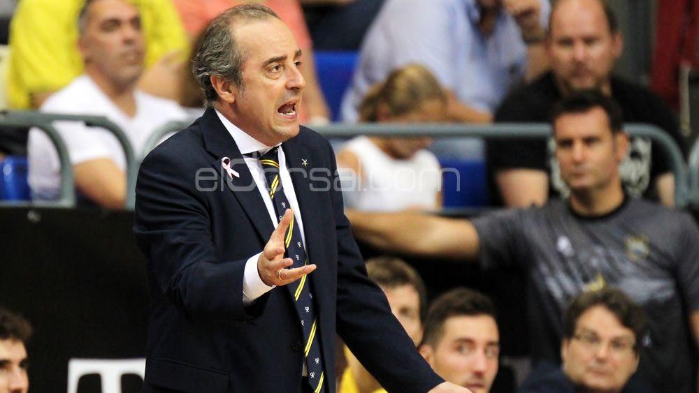 Txus Vidorreta alcanza al medio centenar de partidos como técnico de Iberostar Tenerife