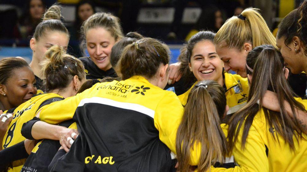 El CV Aguere logra una victoria con sabor a Copa ante IBSA Gran Canaria