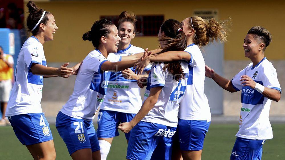 La gran clasificación de la UDG Tenerife para la Copa de la Reina