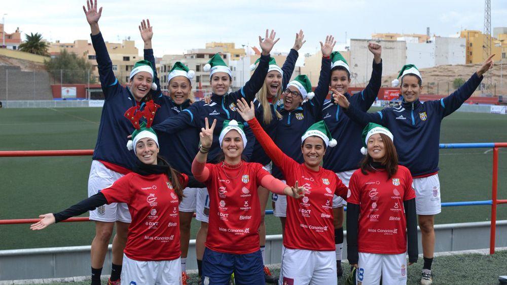 La original felicitación navideña de la UDG Tenerife