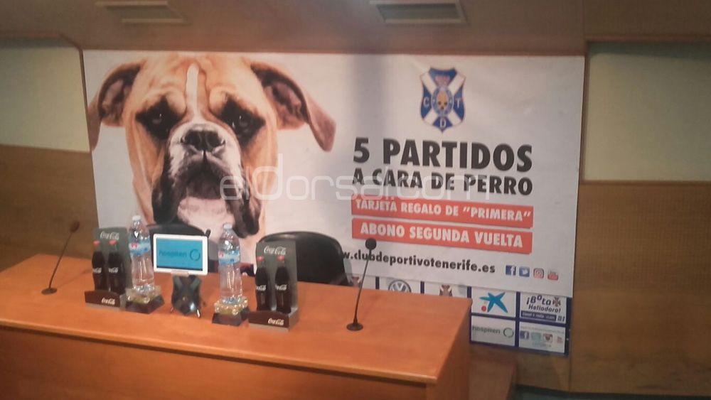 promoción a cara de perro cd tenerife