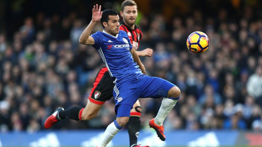Pedro regala un doblete a la afición del Chelsea por el 'Boxing Day'