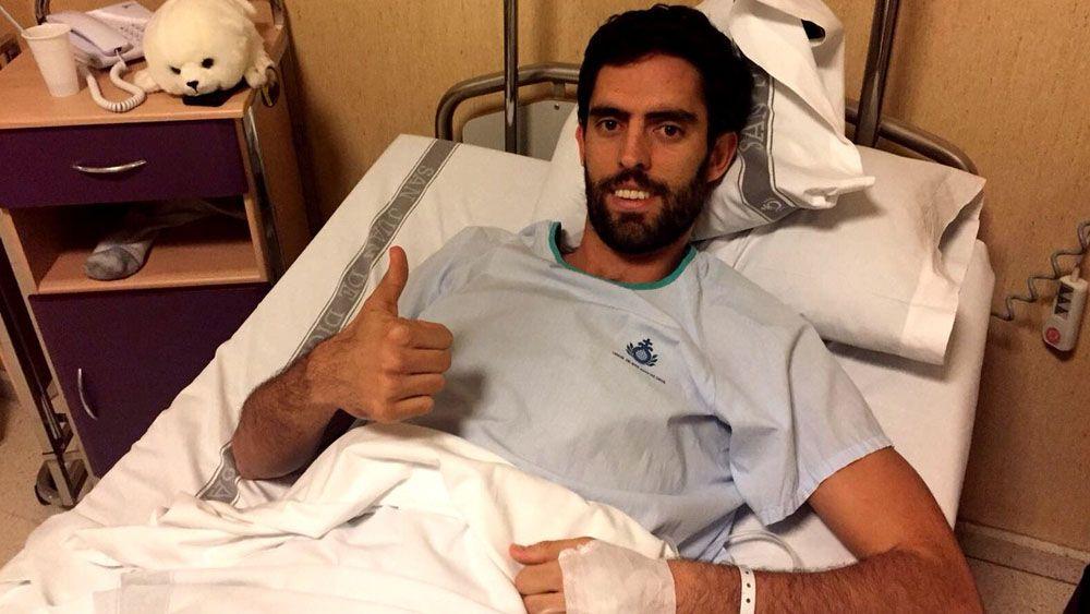 Javier Beirán, operado con éxito