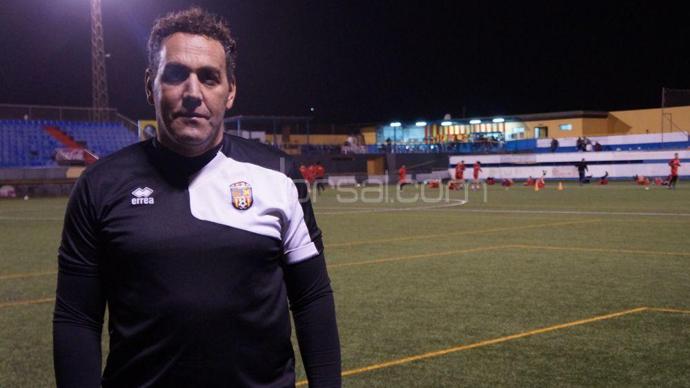 """Francis Díaz: """"Tenemos claro cuál es nuestra meta y vamos a luchar hasta el final"""""""