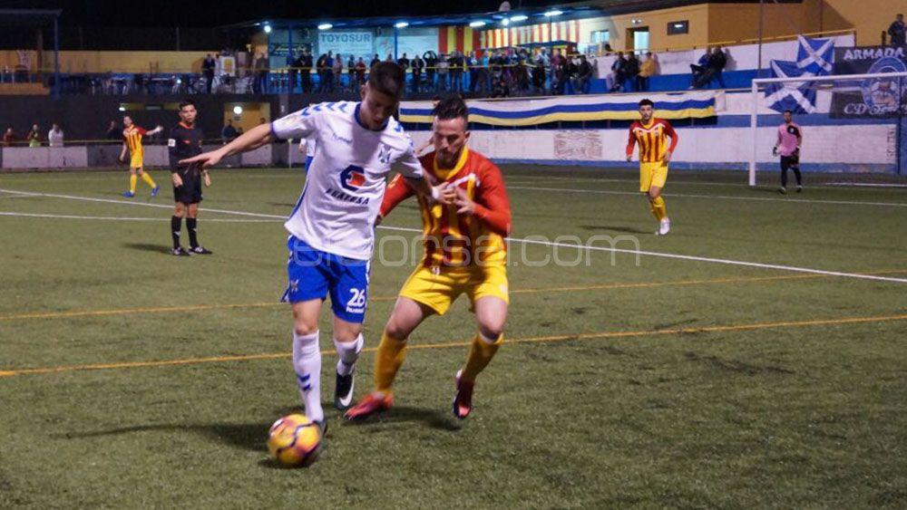 El CD Tenerife comienza 2017 con goleada ante el Raqui San Isidro