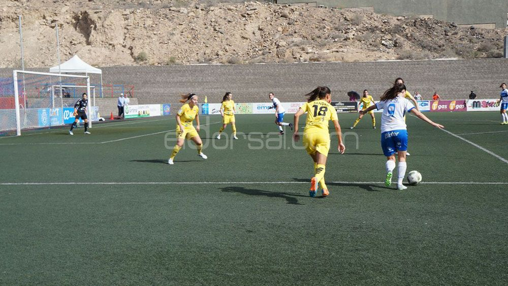 Sufrido triunfo de la UDG Tenerife frente al Santa Teresa